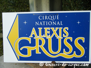 Paris: les installations du cirque national Alexis Gruss à la Porte de Passy