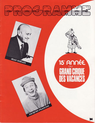 Morbihan: hommage au grand clown Jacques Francini