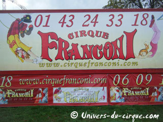 Ile-de-France: spectacles de cirque en région parisienne en mars 2012
