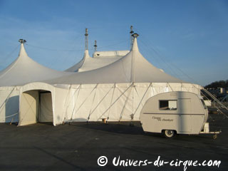 Ile-de-France: spectacles de cirque en région parisienne en avril 2012